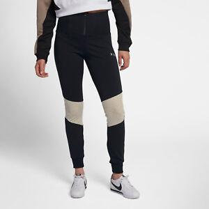 df8bb97dfaf10 Nike Sportswear Essential Women's Leggings M Black Light Bone Ivory ...