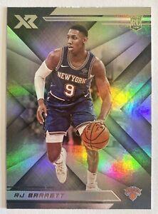 2019-20 XR RJ Barrett Rookie Refractor Base RC #273 NY Knicks Duke Chronicles