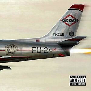 Eminem-Kamikaze-New-Vinyl-Explicit-Colored-Vinyl-Green-Olive