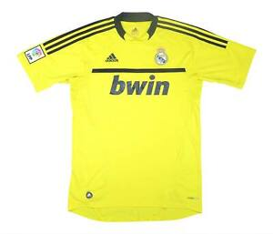 REAL MADRID 2011-12 Authentic GK Shirt (eccellente) M SOCCER JERSEY