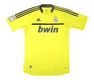 REAL MADRID 2011-12 ORIGINALE GK Shirt (eccellente) M SOCCER JERSEY