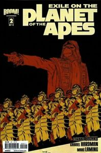 Exile-on-the-Planet-of-the-Apes-2012-Ltd-2-Near-Mint-NM-CoverB-COMICS