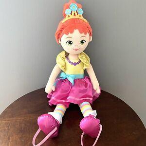 "Disney Fancy Nancy Just Play Ballerina Dance Walk With Me Large Plush 30"""