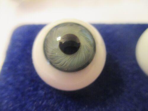 20 mm Antique Hazel Hand Blown Glass Eyes 12.5  mm Iris    X6