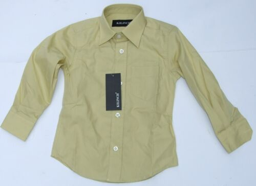 Baby boys light mustard shirt 6-12M 1Y 12-24  wedding,smart,page boy,christening