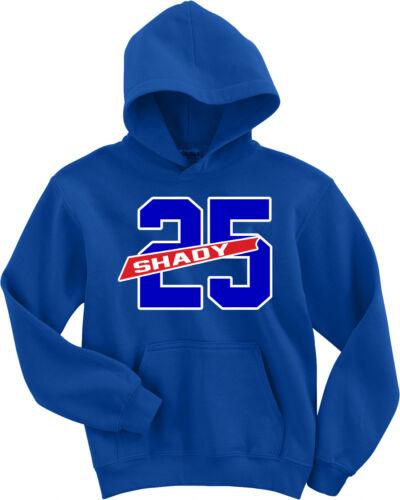 "Lesean McCoy Buffalo Bills /""Shady/"" jersey Hoodie Sweatshirt Long Sleeve"