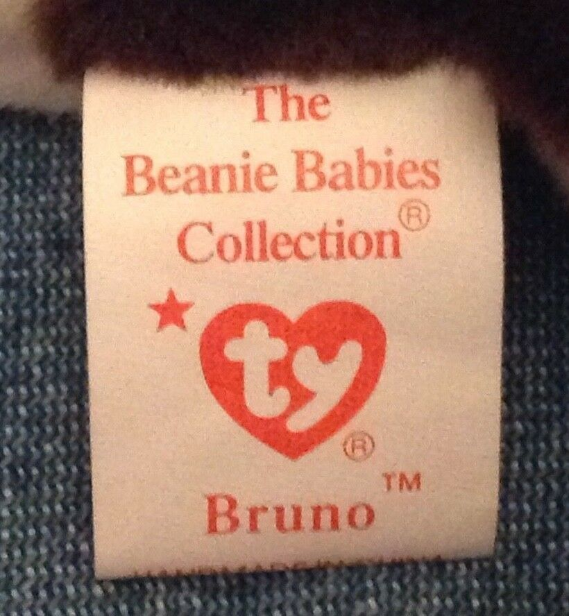 SET OF OF OF 2 MINT RETIRED TY DOG BEANIES= BUTCH & BRUNO - BULL TERRIER BEANIE BABIES 83cf98
