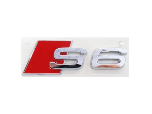 Original Audi S6 Schriftzug Logo Emblem selbstklebend 4B0853735  2ZZ