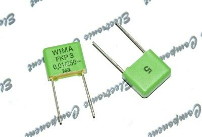 WIMA MKS2 0.01uF 0,01µF 10nF 10pcs 63V 5/% pitch:5mm Capacitor