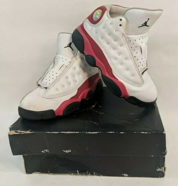 1b2bbbff5ff Nike Jordan Retro 13 BP Boys Shoes Size 12c White Red 414575122 Kids Gently  Used