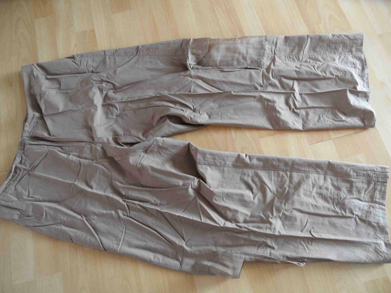 Absolut by Zebra Light Balloon Pants with Side Pockets braun Größe 3 New (HMI 414)