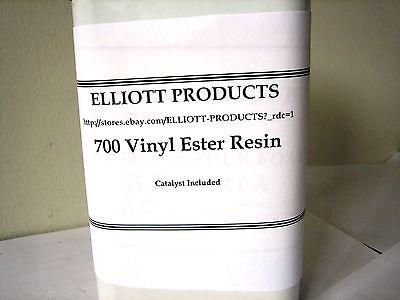 700 Vinyl Ester Resin plus MEKP Catalyst and surfacing wax, 5 Gallon