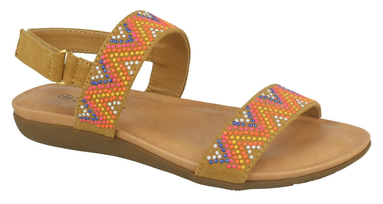 Tan Slingback Summer Sandals