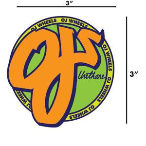 OJ-Wheels-Orange-Circle-Skateboard-Sticker-Decal-Old-School-Screaming-Hand-3-034