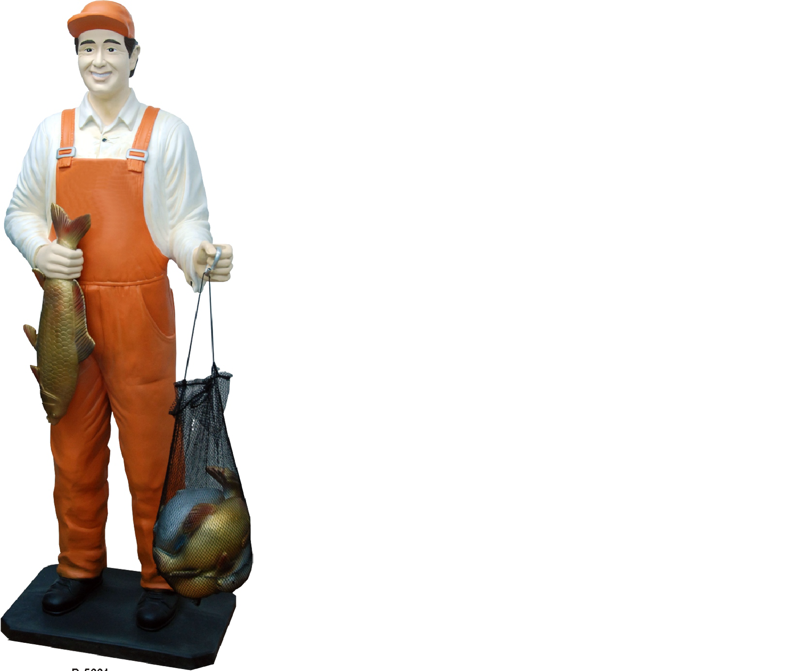 Design Fischer Figur Statue Skulptur Figuren Skulpturen Dekoration Deko 5661 Neu