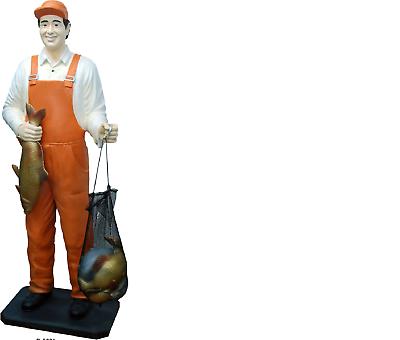 Design Pescatori Figura Statua Scultura Figure Sculture Decorazione Decorazione 5661 Nuovo-mostra Il Titolo Originale