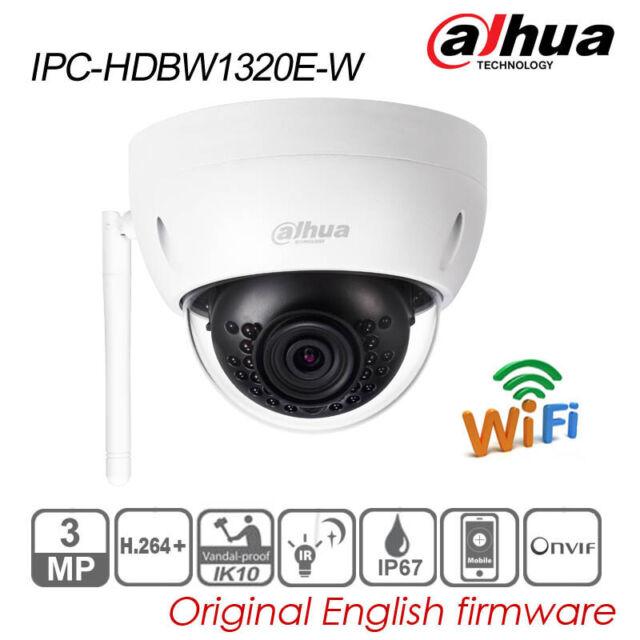 IP67 IK10 IR Mini-DomeCCTV IP Camera Dahua 3MP IPC-HDBW1320E POE 2.8MM H.264