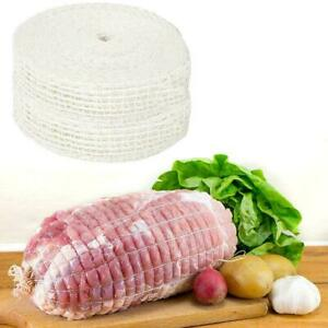 Elastic Meat Netting Butchers Net Ham Roast Sausage Cooking String Cot Roll M8F6