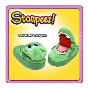 Stompeez-Slippers-Growlin-039-Dragon-Medium