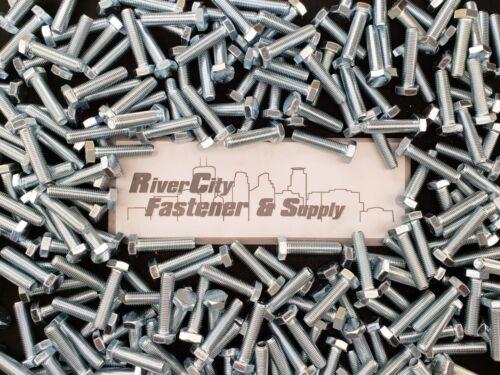 20 Bolts Metric Fine Thread 12mm x 50mm M12-1.5x50 mm Hex Head Cap Screws