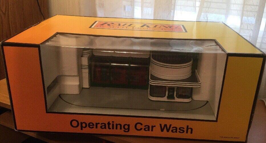 Rail King Speedy Operating Car Wash Item