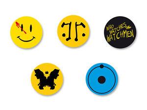 Lot-Pack-Badge-Button-25mm-Watchmen-Les-Gardiens-Dr-Manhattan-Rorschach
