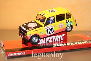 Slot-SCX-Scalextric-A10160S300-Renault-4L-1979-Dakar-Claude-amp-Bernard-Marreau