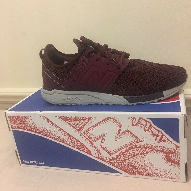 New Balance247 TrainersBurgundy Eur MENS TRAINERS SNEAKERS SHOES Eur TrainersBurgundy 44.5 f11ac9