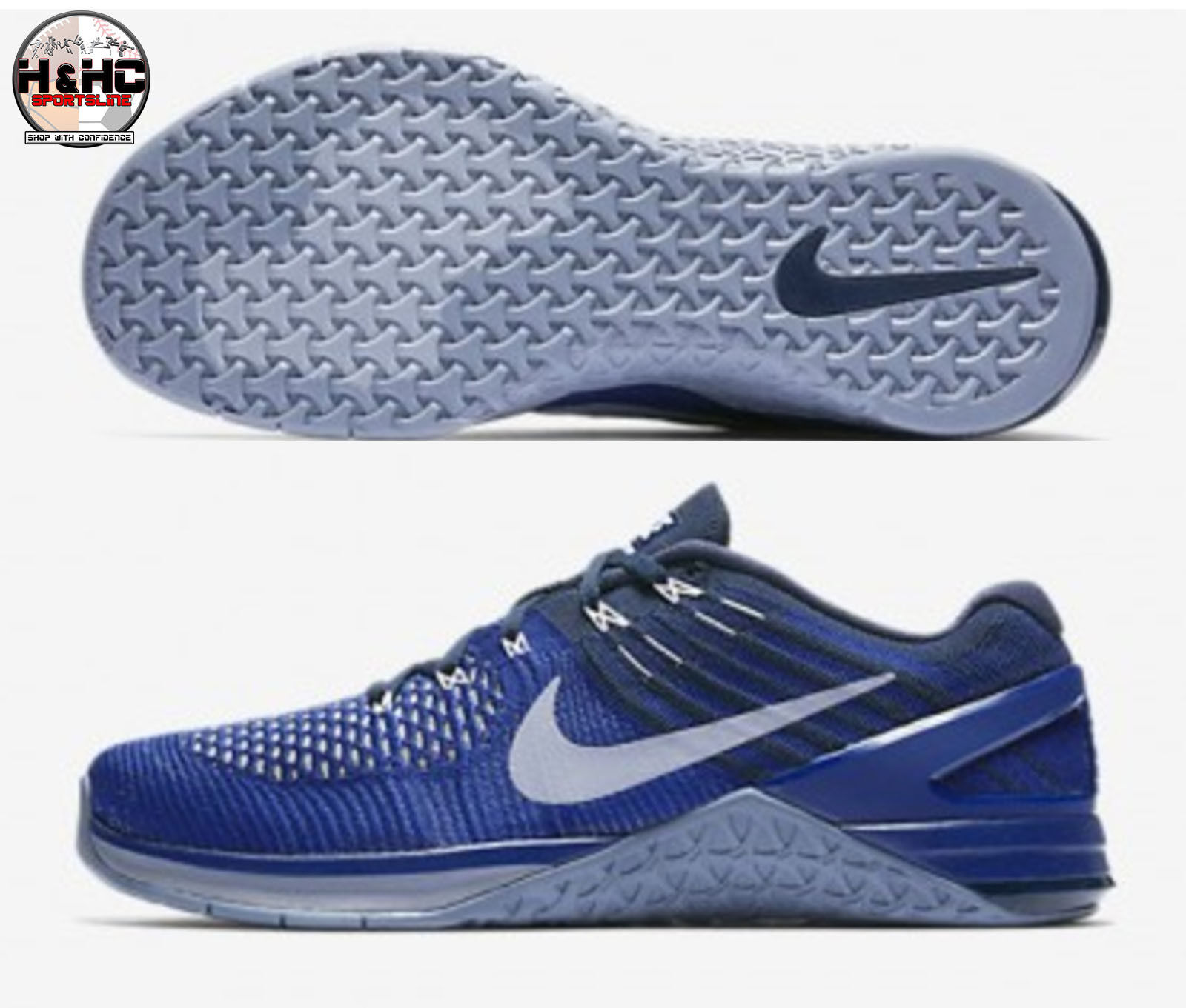 Nike Nike Nike metcon dsx flyknit 852930 403 royal Blau / blaue männer trainingsschuh sz. 838148