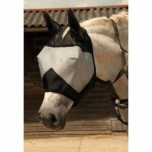 Rhinegold Horse Pony Fly Mask With Ears ALL SIZES