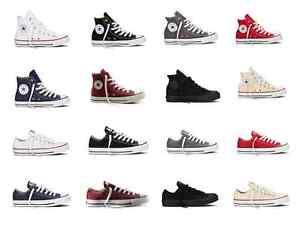 Converse-Chucks-Taylor-All-Star-Hi-Low-Schuhe-Sneaker-Herren-Damen-NEU
