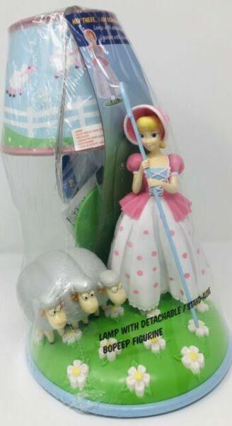Plush Doll /& Book Disney Pixar Toy Story 4 Bo Peep /& Sheep Table Lamp Figure