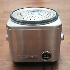 Cuisinart 8 Cup Stainless Steel Rice Cooker Steamer CRC-800