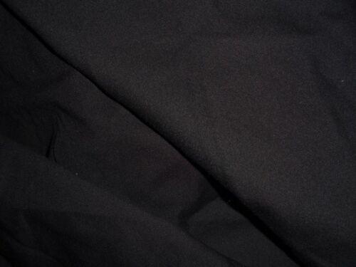 tissu jersey milano epais col noir 100x140 cm ideal jogging sweat top qualité