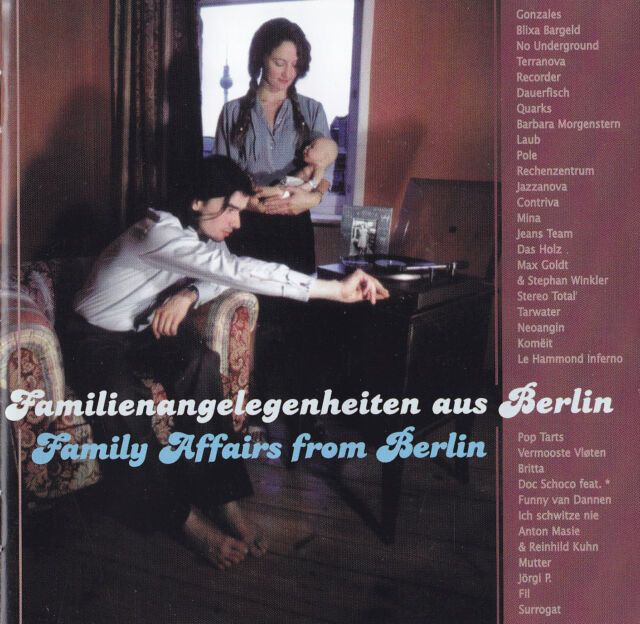 FAMILIENANGELEGENHEITEN AUS BERLIN (Family Affairs from Berlin) - 2 CD - SAMPLER