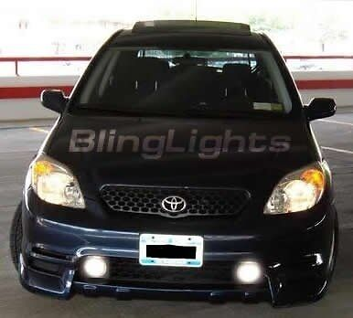 2003 2004 Toyota Matrix Halo Fog Lamp Angel Eye Driving Light Kit Harness