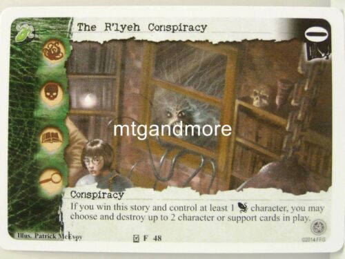 1x The R/'lyeh Conspiracy  #048 Necronomicon Draft Pack Call of Cthulhu LCG