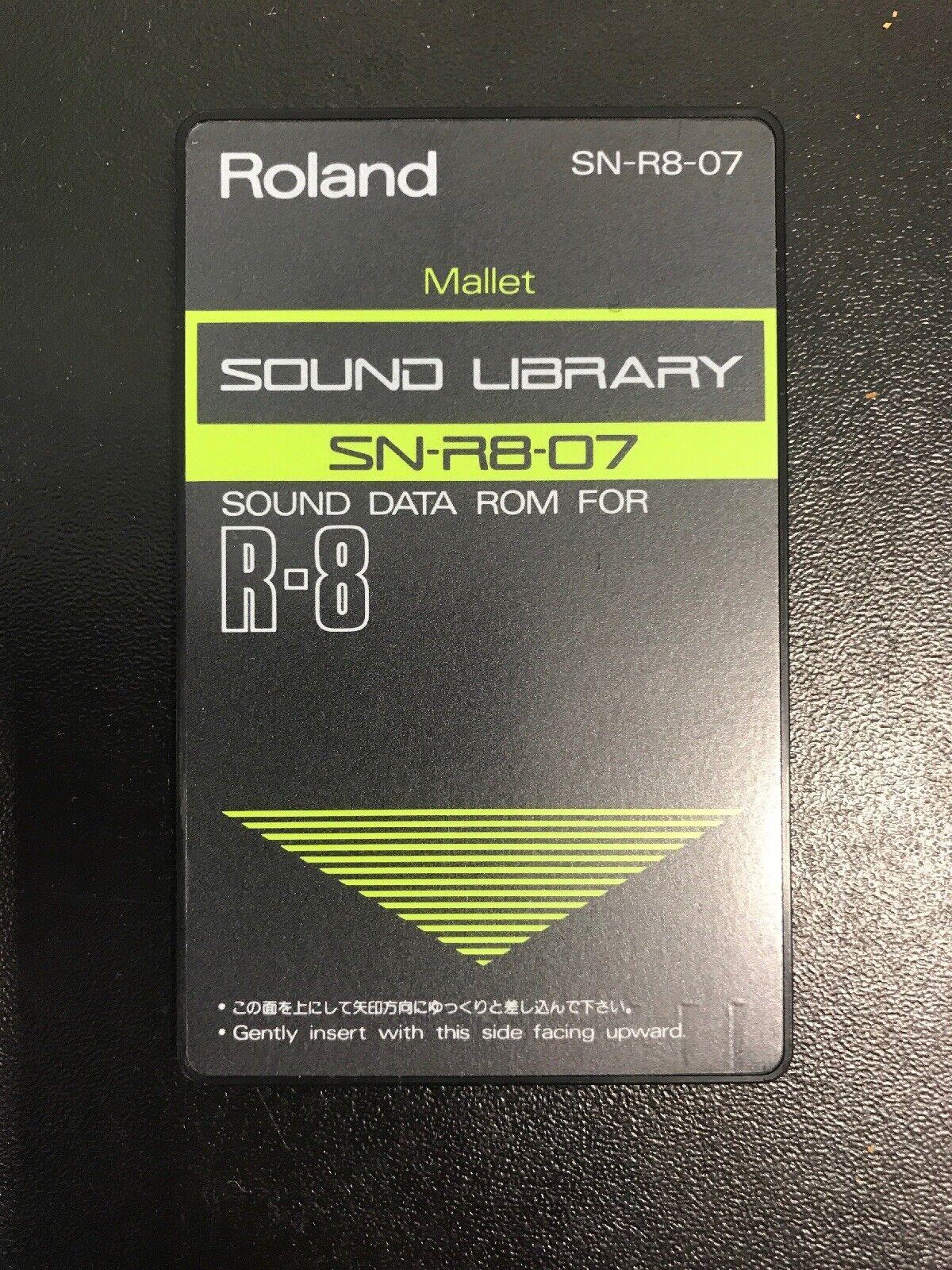 "ROLAND R8 Cartridge Card ""MALLET"""