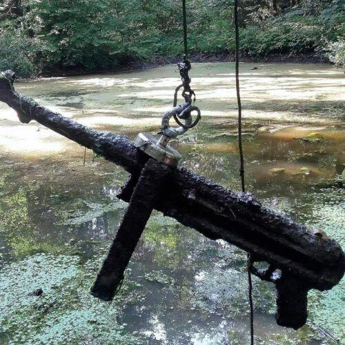 100 LBS Pull Force Fishing Magnet Kit  Super Strong Neodymium Treasure Hunting