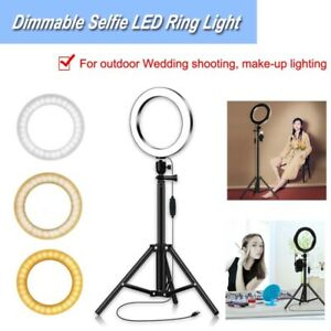 1-Set-High-Quality-20CM-Dimmable-Selfie-LED-Ring-Light-with-variable-1-5-meters