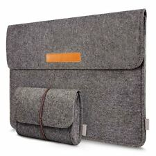 "Inateck Felt 15 -15.4"" MacBook Pro Sleeve Case Ultrabook Netbook Bag With Pocket"