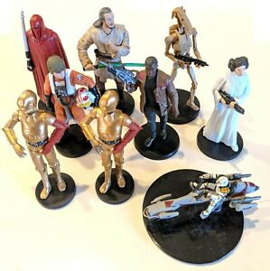 Combine Shipping! Star Wars Unleashed Posed Mini-Figurines Lucasfilm CHOOSE