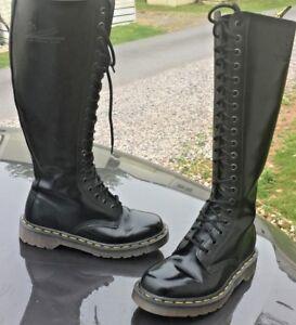 5 Boots Eu Leather Martens 1420 38 Black 20 Dr Smooth Eye Uk xnAUBqgg0