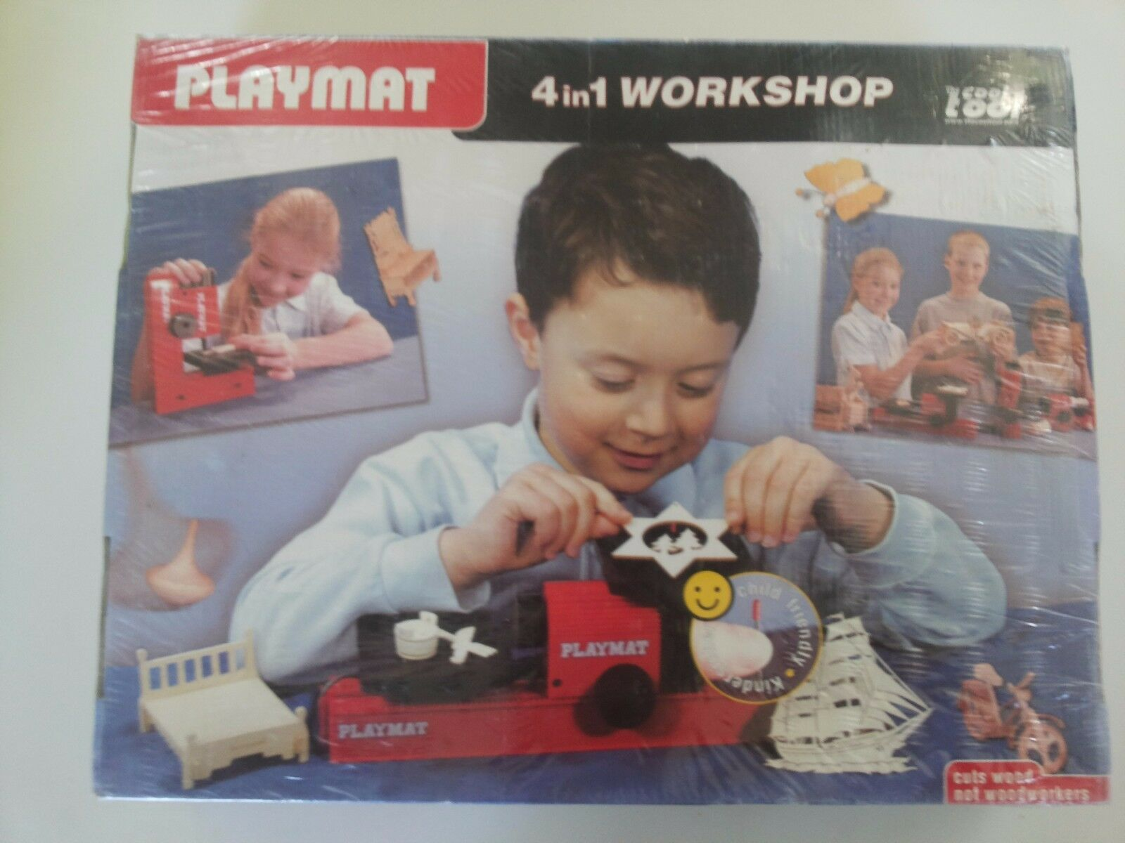 PLAYMAT 4 IN 1 THE COOL TOOL
