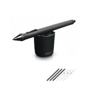 Dependable Genuine Wacom Kp-501e Grip Pen Kp-501e-01 For Intuos 5 4 Pro Cintiq 21ux 24hd Computers/tablets & Networking Graphics Tablets/boards & Pens