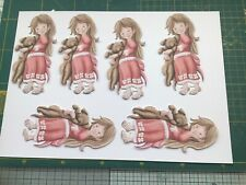 NEW TATTERED LACE ALICE IN WONDERLAND DIE CUT SET OF 8  BEST CARD USED