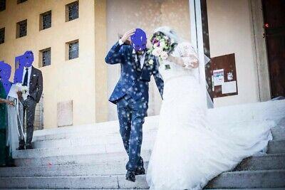 Abito Competo Da Cerimonia/sposo Uomo, Mezzo Tight. Alberto Greco Tg. 48