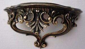 Baroque-Wall-Mirror-Console-Antique-Wall-Shelf-Wall-Bracket-Black-Gold-3083