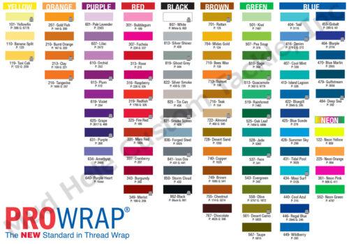 ProWrap Thread Purple Tones NCP//ColorFast