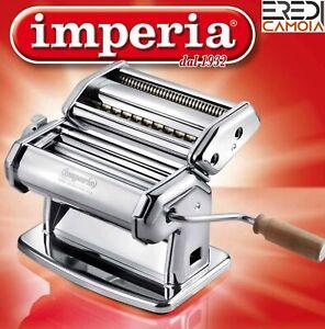 Macchina per la pasta in acciaio cromato Imperia Titania